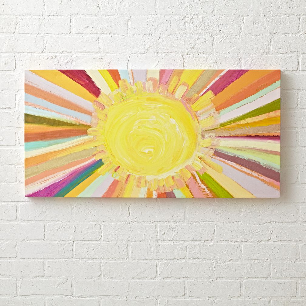 Colorful Sunshine Painting The Land Of Nod