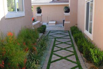 Artificial Turf Backyard - Landscaping Network on Turf Backyard Ideas id=54414