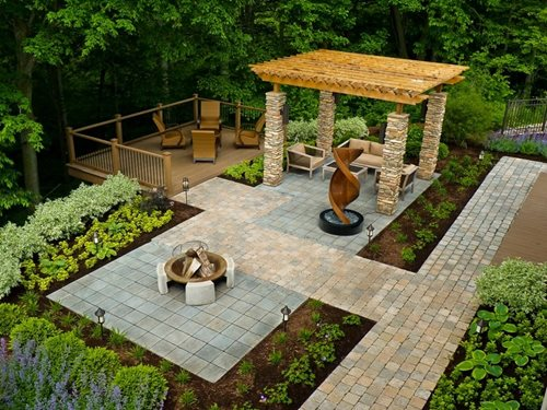 Patio Placement & Layout - Landscaping Network on Garden Patio Designs And Layouts id=30454