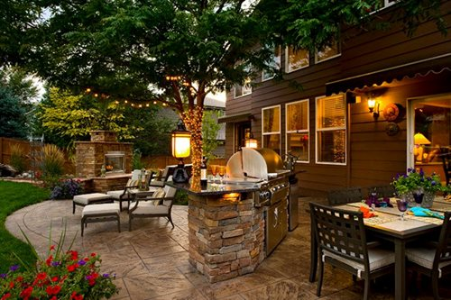 Landscaping Ideas Denver - Landscaping Network on Built In Grill Backyard id=45146