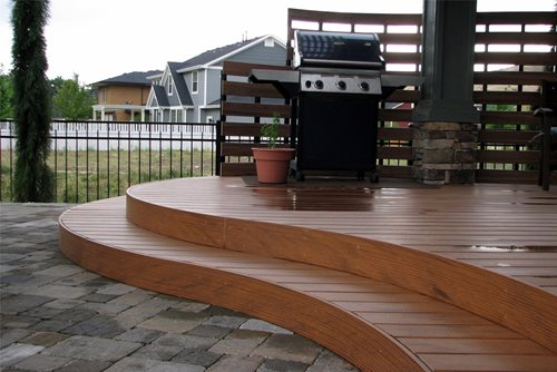 curved deck designs