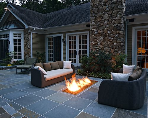 Modern Landscaping Ideas - Landscaping Network on Fireplace In Yard  id=51630