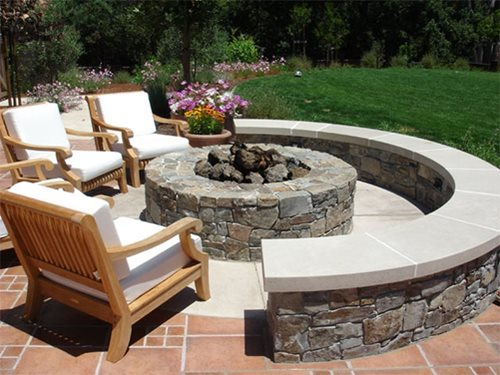Outdoor Fire Pit Design Ideas - Landscaping Network on Garden Ideas With Fire Pit id=61077