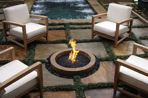 20 Fire Pit Ideas - With Instructions And More | DIY ... on Garden Ideas With Fire Pit id=82813