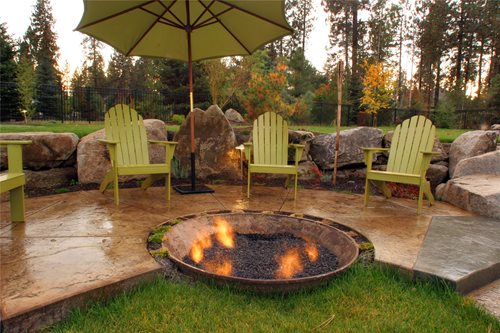 Unique Fire Pit Ideas - Landscaping Network on Garden Ideas With Fire Pit id=68561