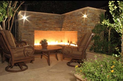 Outdoor Stone Fireplace - Landscaping Network on Fireplace In Yard id=80746