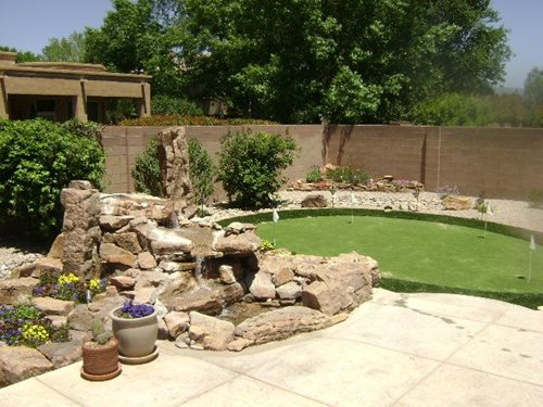 Backyard Putting Green Ideas - Landscaping Network on Putting Green Ideas For Backyard id=92693