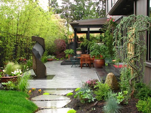 japanese gardens with bamboo Private Japanese Garden - Landscaping Network