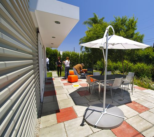Modern Patio Paving Ideas - Landscaping Network on Square Concrete Patio Ideas  id=74250