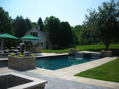 Backyard Renovation Project - Landscaping Network on Backyard Pool And Landscaping Ideas id=53208