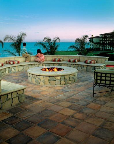 selecting outdoor tile landscaping
