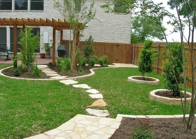 Landscape plans: Garden patio area ideas on My Patio Design id=33675