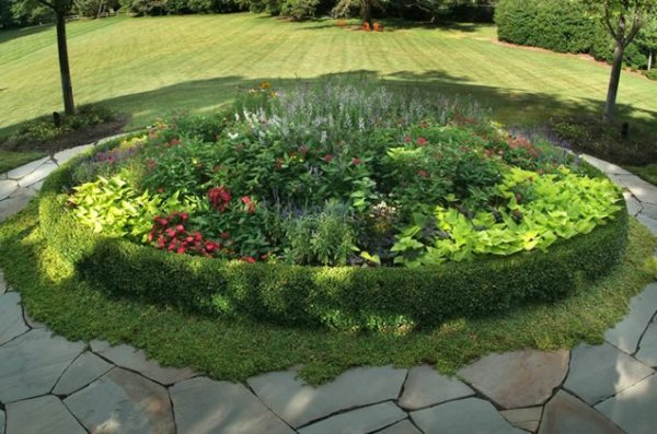 circular flower garden designs Garden Design - Great Falls, VA - Photo Gallery