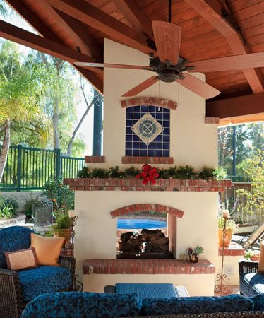 Outdoor Fireplace Fullerton Ca Photo Gallery
