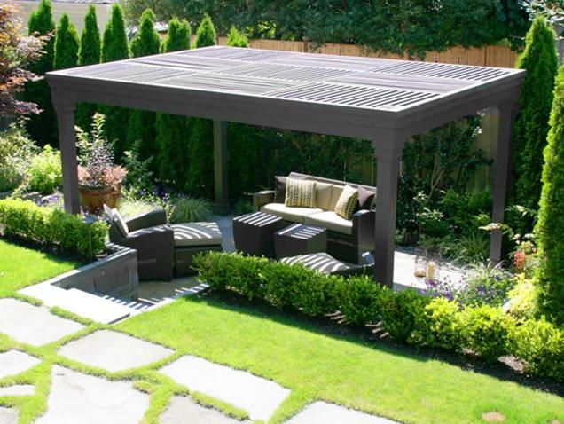 Modern Pergola Design Plans Plans DIY Free Download ... on Modern Back Patio id=91595