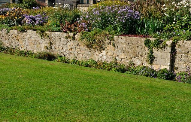 Pedra argamassada retenção muro de contenção e Paisagem da parede Paisagismo Rede Calimesa, CA