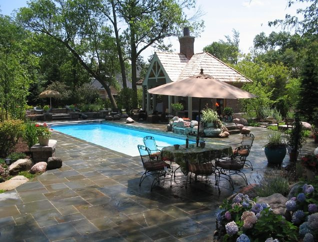 Rectangle Pool Landscaping Ideas PDF on Landscaping Ideas For Rectangular Backyard  id=69531