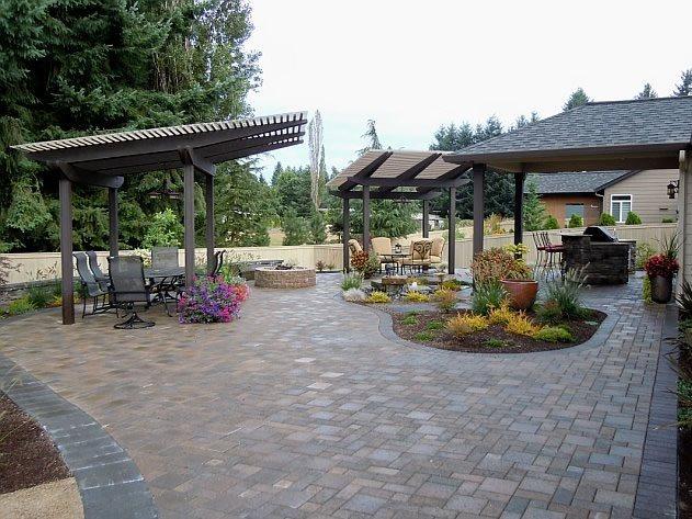 Backyard Landscaping - Battle Ground, WA - Photo Gallery ... on Custom Backyard Designs id=16436