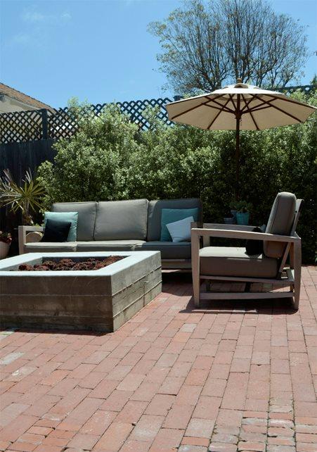 Brick Patio - Calimesa, CA - Photo Gallery - Landscaping ... on Square Concrete Patio Ideas  id=29421