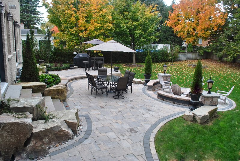 Canada Landscaping - Whitby, ON - Photo Gallery ... on Backyard Decor Canada id=36146