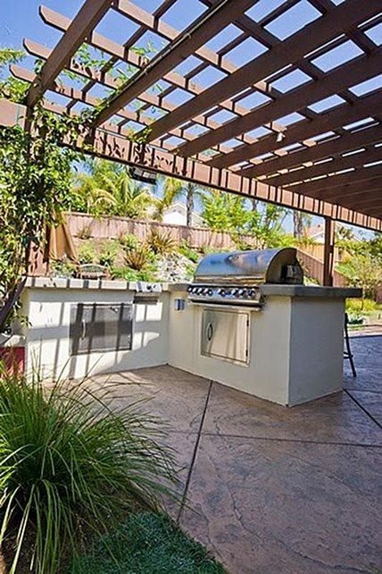 Concrete Patio - San Diego, CA - Photo Gallery ... on L Shaped Patio Ideas id=99159