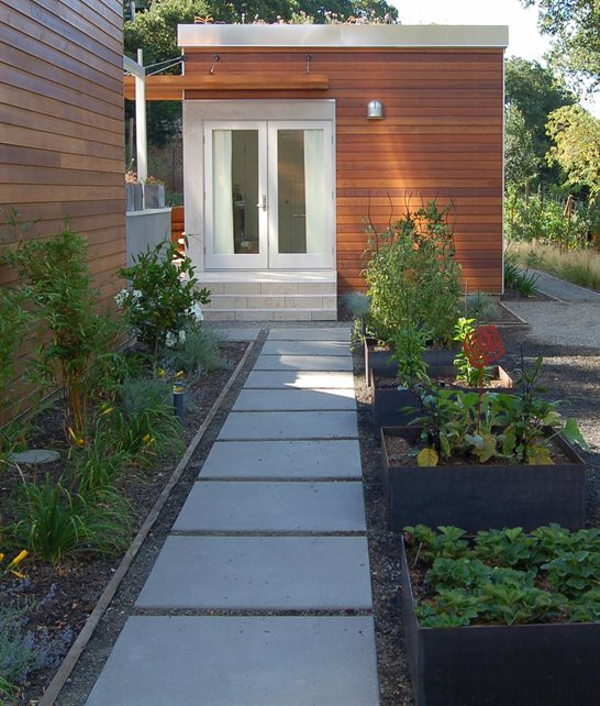Concrete Walkway - Walnut Creek, CA - Photo Gallery ... on Side Yard Walkway Ideas  id=32506