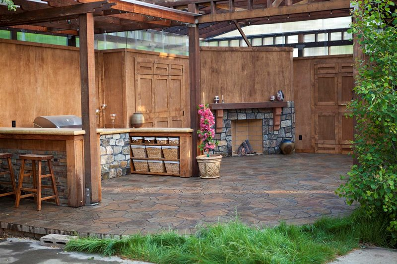 Country Landscape Design - Pleasanton, CA - Photo Gallery ... on Rustic Backyard Ideas id=42257