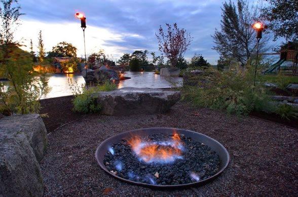 Pit Landscape Tropical Fire
