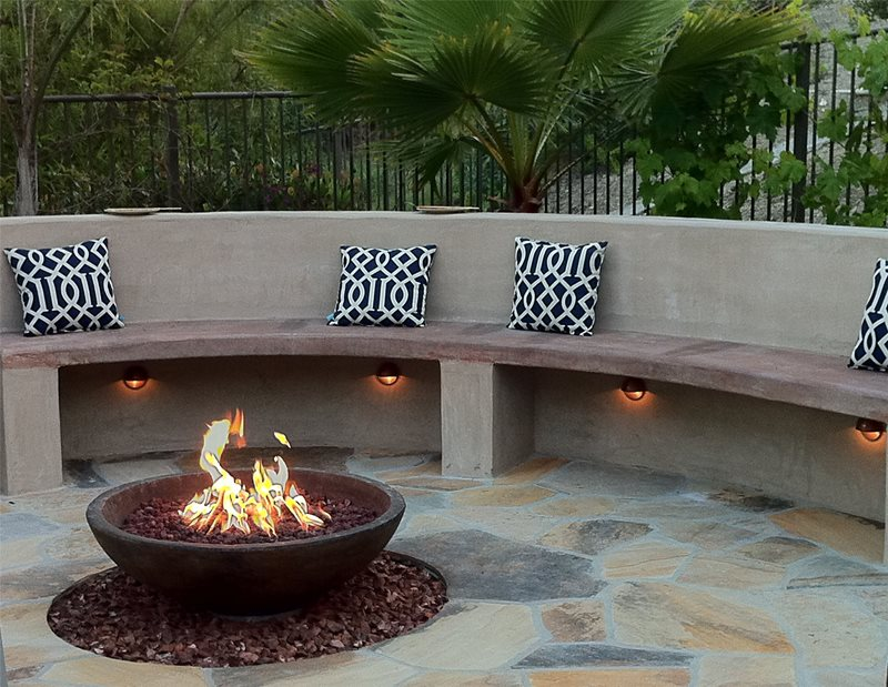 Fire Pit - San Clemente, CA - Photo Gallery - Landscaping ... on Modern Boma Ideas id=91119
