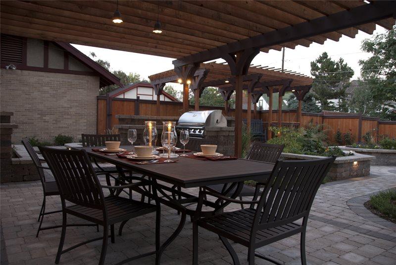 Foodie Backyard - Centennial, CO - Photo Gallery ... on Arcadia Backyard Designs id=77695