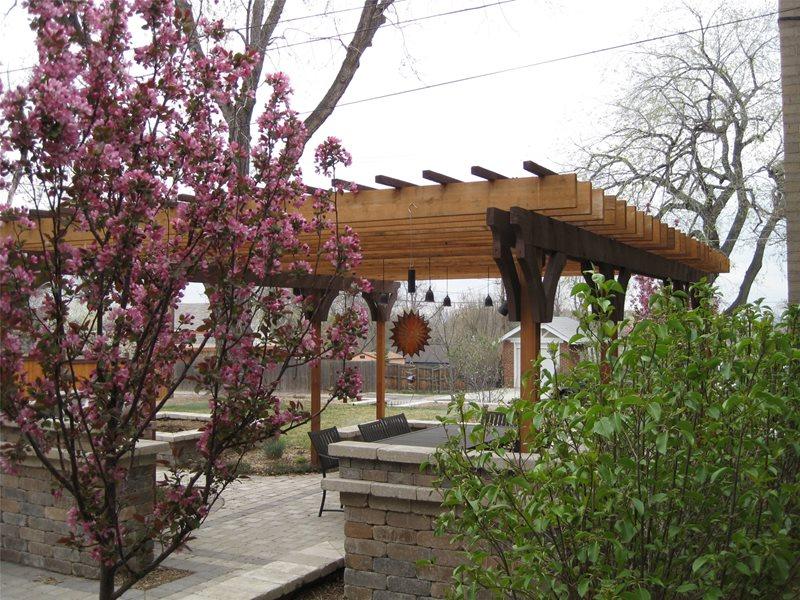 Foodie Backyard - Centennial, CO - Photo Gallery ... on Arcadia Backyard Designs id=87637