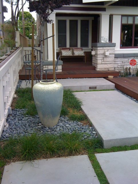 Front Yard Landscaping - Calimesa, CA - Photo Gallery ... on Concrete Front Yard Ideas id=80010