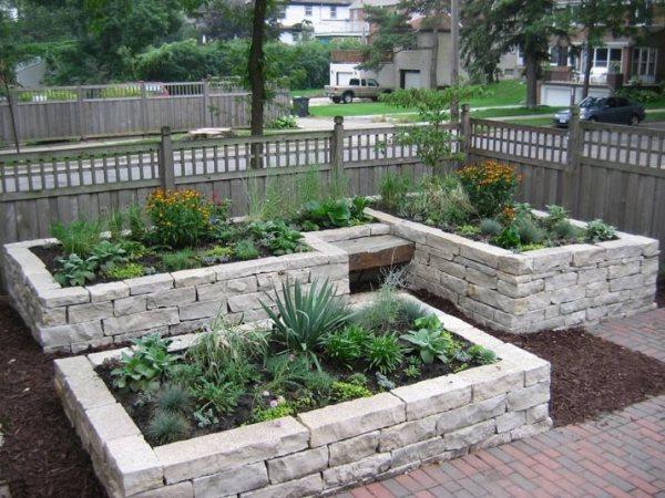 rock raised garden bed ideas Garden Design - Eden Prairie, MN - Photo Gallery
