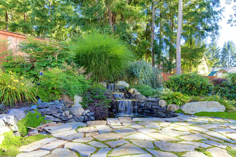 Hillside Landscaping - Calimesa, CA - Photo Gallery ... on Tiered Yard Landscaping id=94049