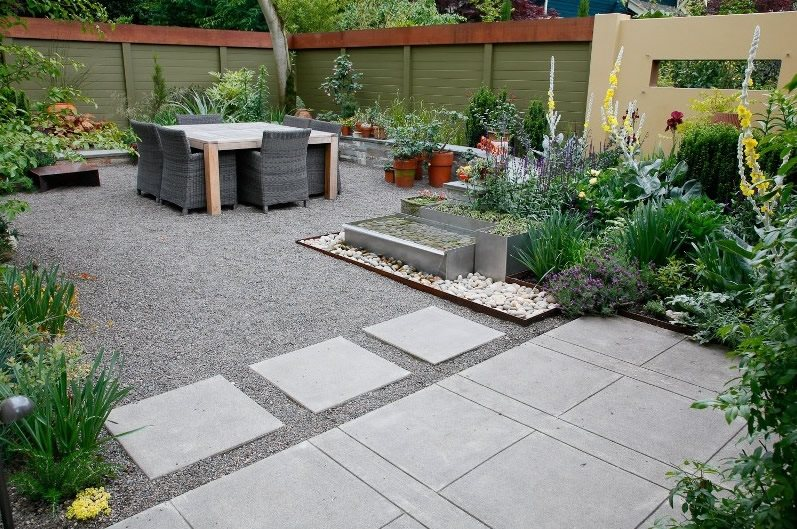 Lawnless Landscaping - Hillsboro, OR - Photo Gallery ... on Backyard Hardscape Design id=87775