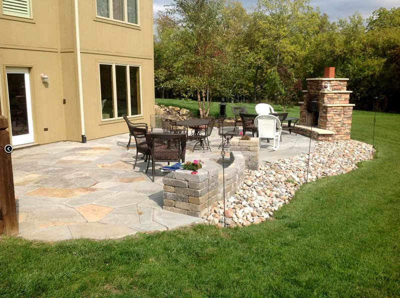 Midwest Landscaping - Lees Summit, MO - Photo Gallery ... on Back Patio Landscaping id=52349