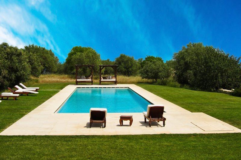 Modern Pool - Calimesa, CA - Photo Gallery - Landscaping ... on Modern Backyard Ideas With Pool id=98610
