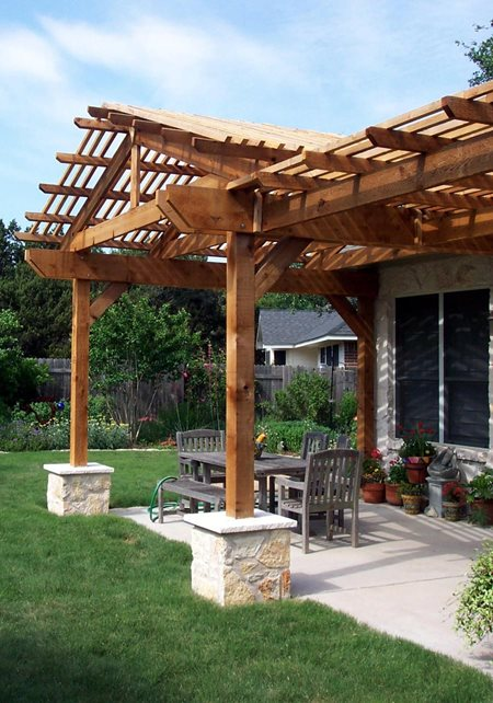 Pergola And Patio Cover Austin Tx Photo Gallery