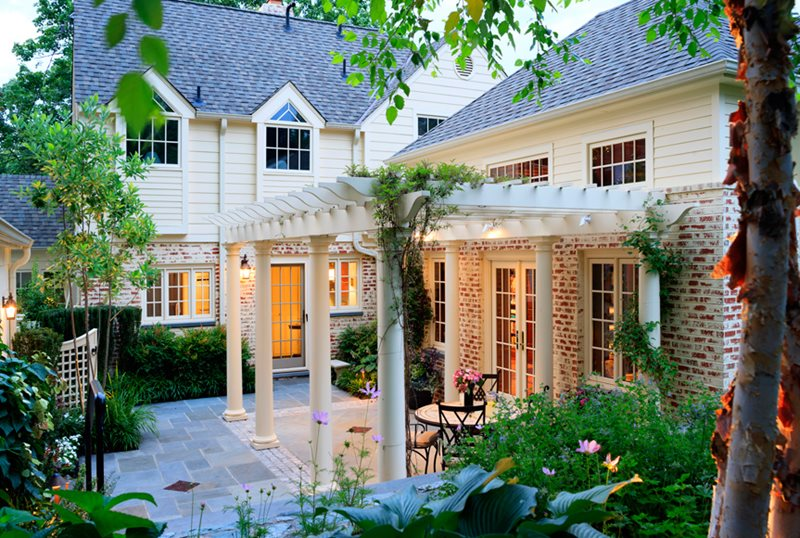 Pergola and Patio Cover - Olney, MD - Photo Gallery ... on White Patio Ideas id=34693