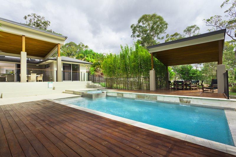 Swimming Pool - Calimesa, CA - Photo Gallery - Landscaping ... on Modern Backyard Ideas With Pool id=52415