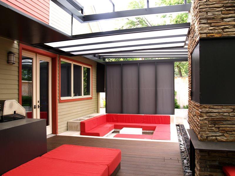 Texas Landscaping - Austin, TX - Photo Gallery ... on Backyard Exterior Design id=70465