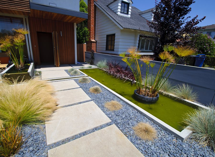 Concrete Walkway Design - Landscaping Network on Backyard Walkway Ideas id=95000