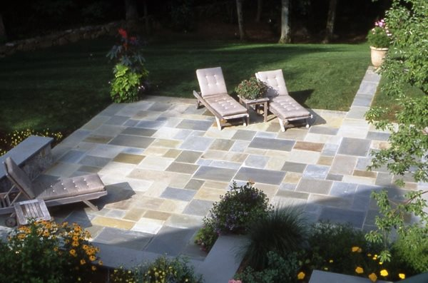 bluestone patio design ideas Flagstone Paving Ideas - Landscaping Network