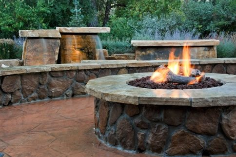Unique Fire Pit Ideas - Landscaping Network on Fire Pit Design  id=64628