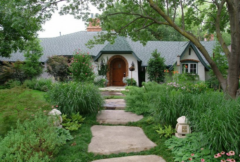 Front Yard Landscaping Ideas - Landscaping Network on Concrete Front Yard Ideas id=13789
