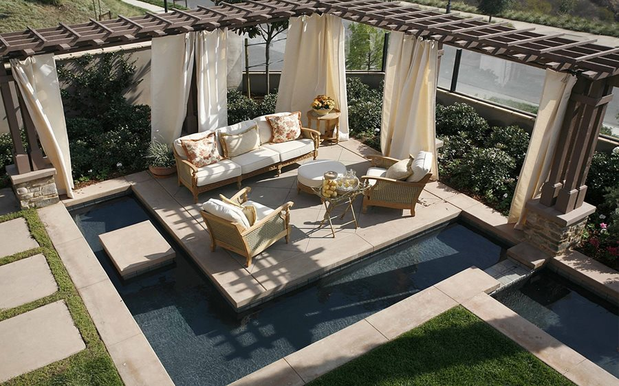 Concrete Patio - Design Ideas, and Cost - Landscaping Network on Landscaping And Patios  id=57382
