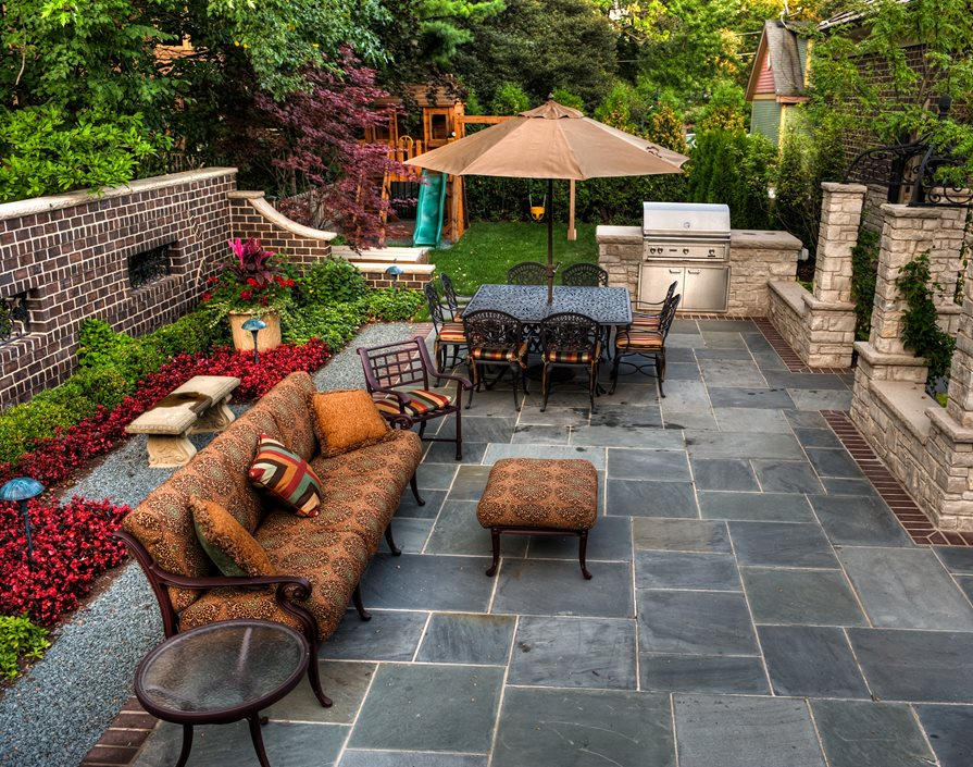 Patio Cost - Landscaping Network on Square Concrete Patio Ideas  id=32794