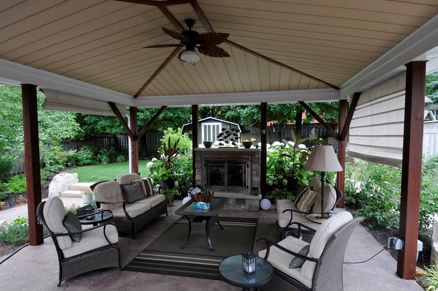 Landscaping Ideas Toronto - Landscaping Network on Outdoor Gas Fireplace For Deck id=99218