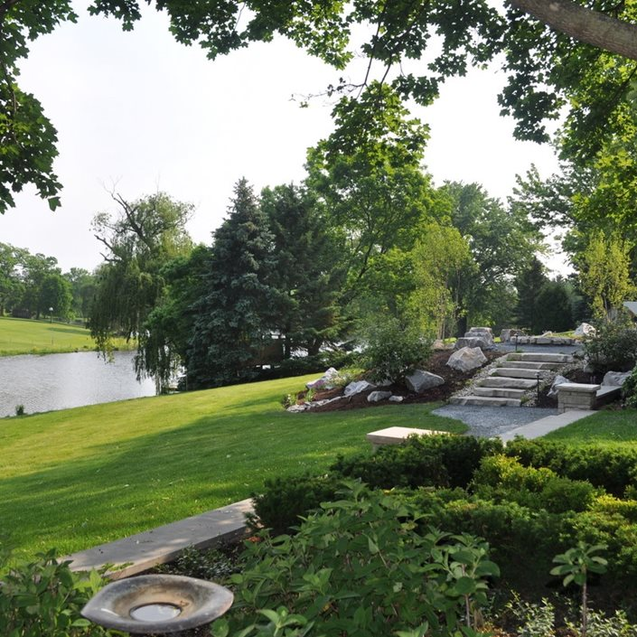 Waterfront Landscaping Ideas - Landscaping Network on Lakefront Patio Ideas id=95594