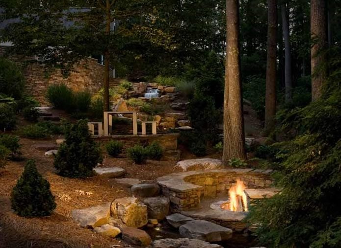 Large Yard Landscaping Ideas - Landscaping Network on Backyard Landscape  id=54100